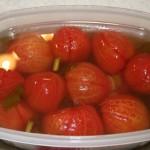 Малосольные помидоры без шкурки