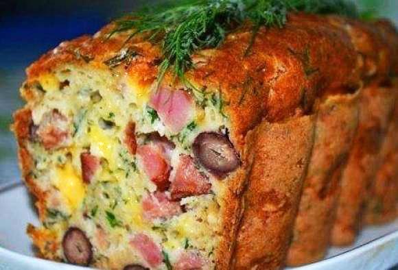 Мясной кекс рецепт с фото