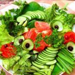 Овощные нарезки. Украшение.