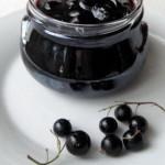 Быстрое варенье из черной смородины